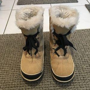 Sorel Beige Winter Boots